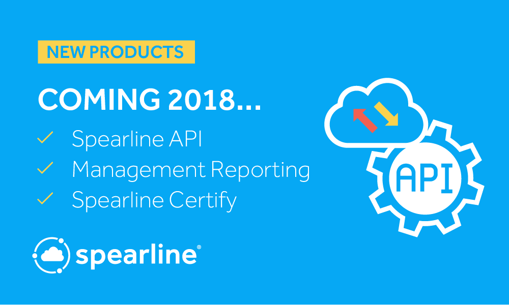 Spearline Product Manager, Mick Gaffney, Gives Us A Preview of New Product Releases for 2018.