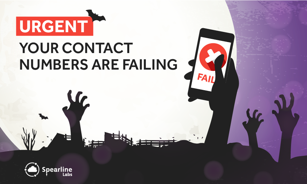 URGENT: Your Contact Numbers Are Failing